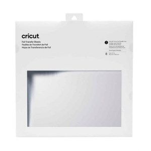 Foil Transfer Folhas Prata Cricut 30,5 x 30,5 cm