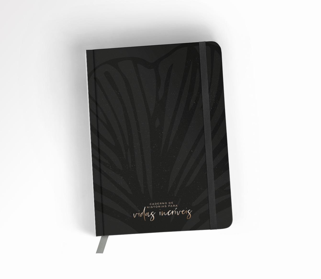 Caderno de Histórias para Vidas Incríveis - Black