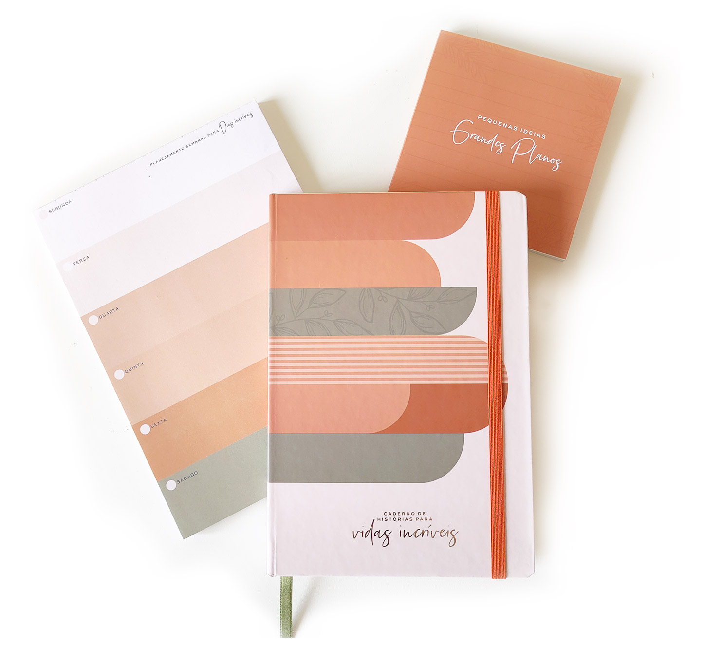 Kit Mini Semanal Incrível | Bloco Semanal Bullet Journal | Studio Luze
