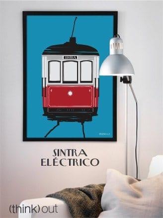 Póster Eléctrico de Sintra