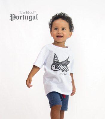 T-shirt de Criança Andorinha