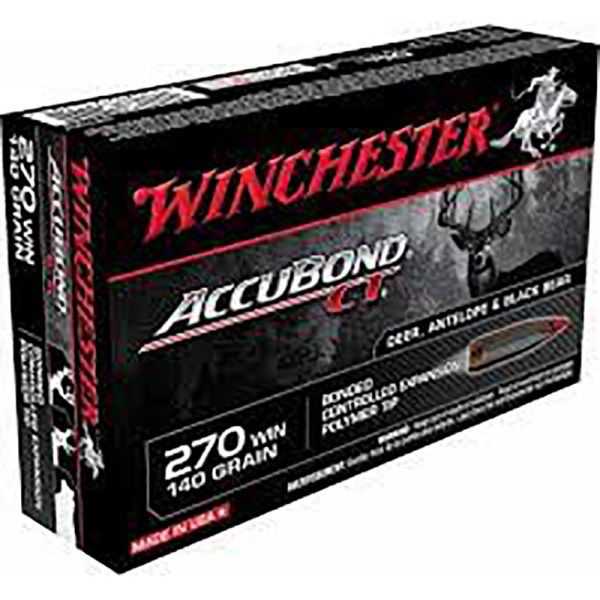 Mun. Winchester 270 Winchester 140 Gr Accubond_lojaamster
