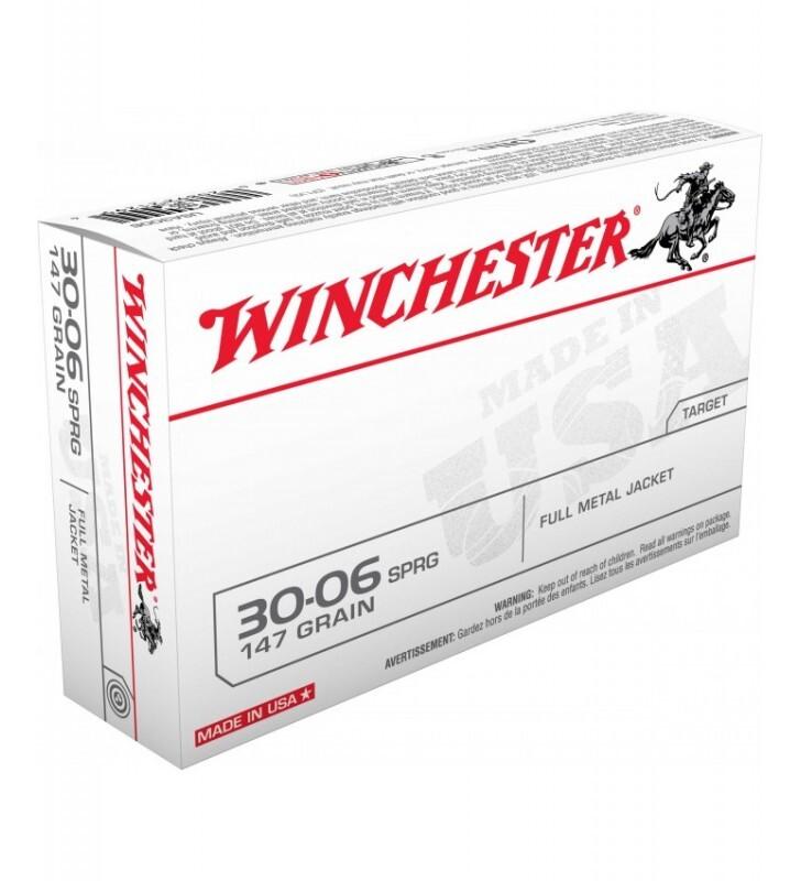 Mun. Winchester 30-06 Spr.147gr FMJ_lojaamster