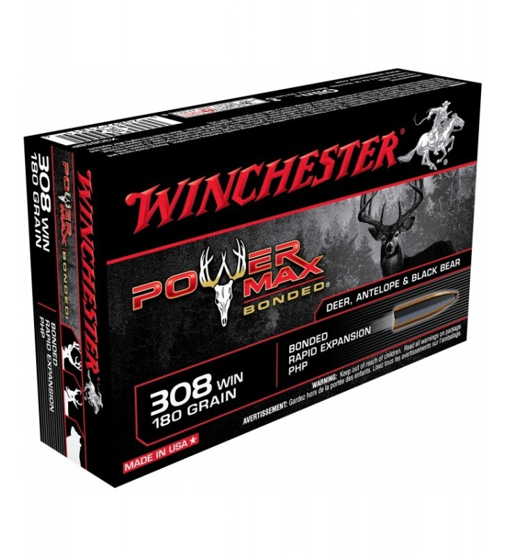 Mun. Winchester 308 Win 180gr Power Max_lojaamster