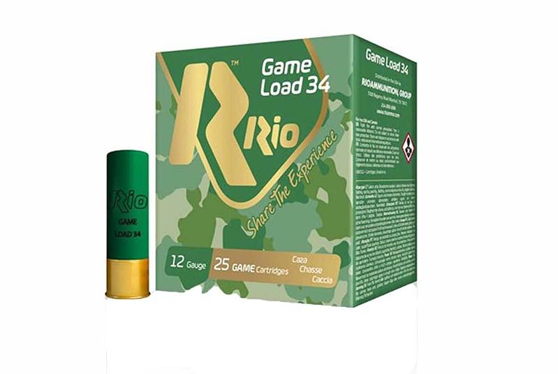Cx 25 Cartuchos Rio 50 34 Gr