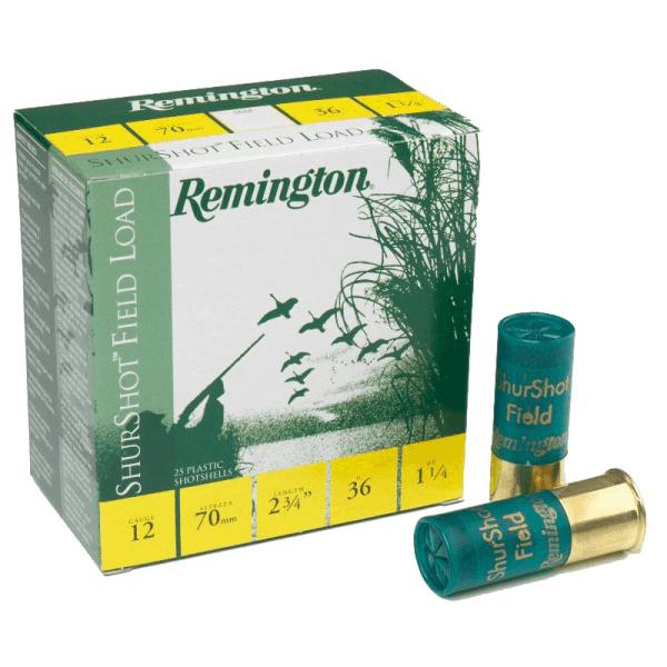 Cartuchos Remington 36GR