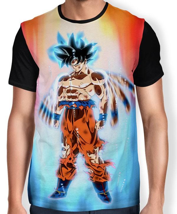 Comprar Camisa Full Limit Break Goku Instinto Superior