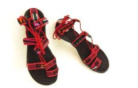 Sandália romana de mola (tam. 36 / 24 cm)