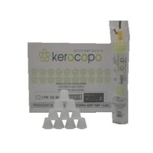 copo 50 ml c/ 5000 kerocopo branco