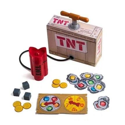 Jogo TNT com Acessórios Indicado para +6 Anos Vermelho/Amarelo