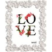 Porta Retrato Love 5507 10x15 Branco Mart