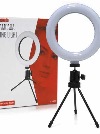 Iluminador Ring Light 16cm