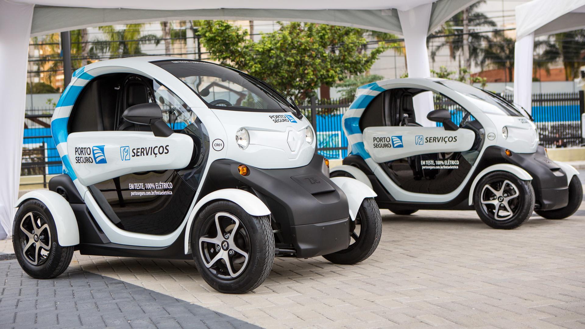 Renault Twizy atua como carro de serviço de seguradora no Brasil