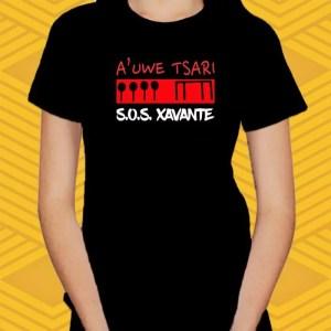 Camiseta S.O.S. Xavante Baby Look