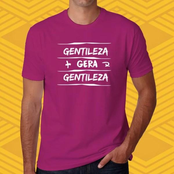 Camiseta Gentileza Unissex