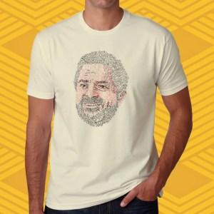 Camiseta Lula Cadê a Prova? Unissex