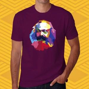 Camiseta Karl Marx Unissex Unissex