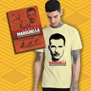Camiseta - Marighella Unissex + Livro