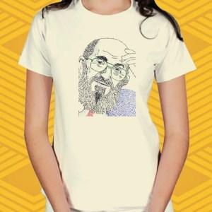 Camiseta Paulo Freire Baby Look