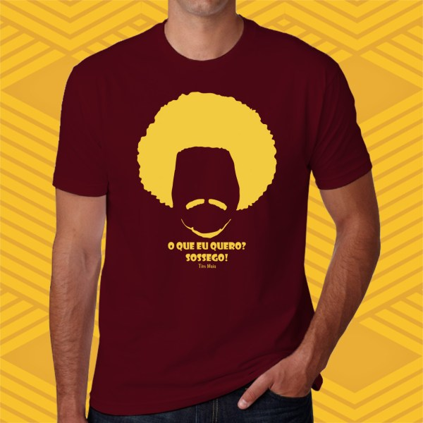 CAMISETA TIM MAIA - UNISSEX -BABY LOOK
