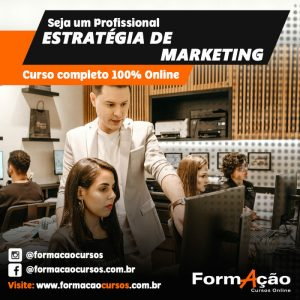 CURSO ONLINE : ESTRATÉGIA DE MARKETING