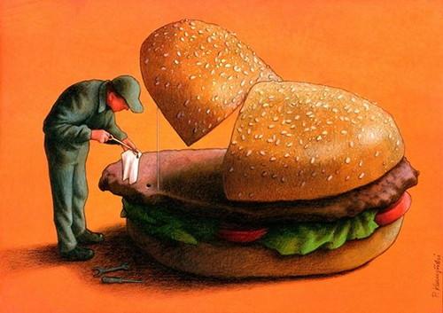 【社会問題を鋭くえぐる】ポーランドの画家パウル・クチンスキの描く風刺画からあなたはなにを感じますか?