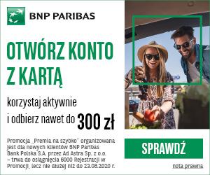 BNP Paribas Premia na szybko
