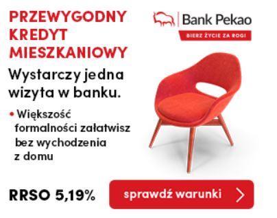 Pekao SA Przewygodny kredyt mieszkaniowy