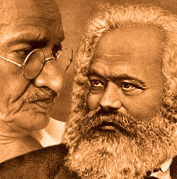 Why Gandhi and Marx Are More Relevant Now Than Ever Before