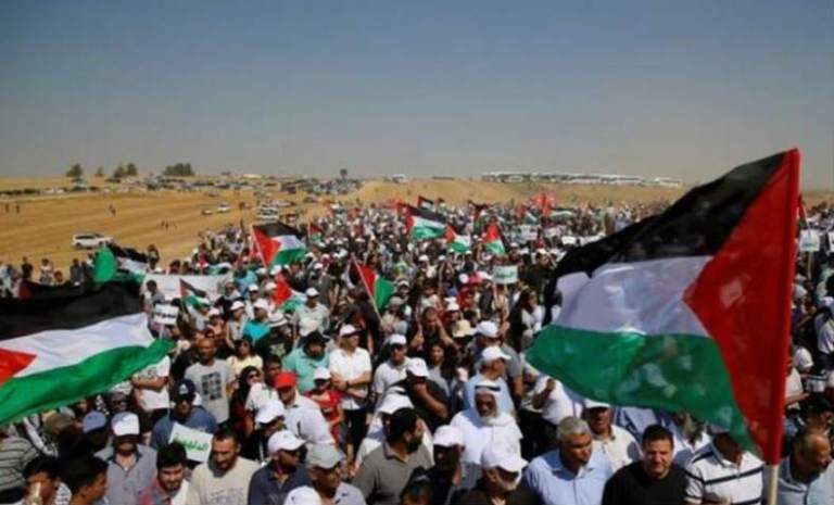 The People of Palestine Are on the March