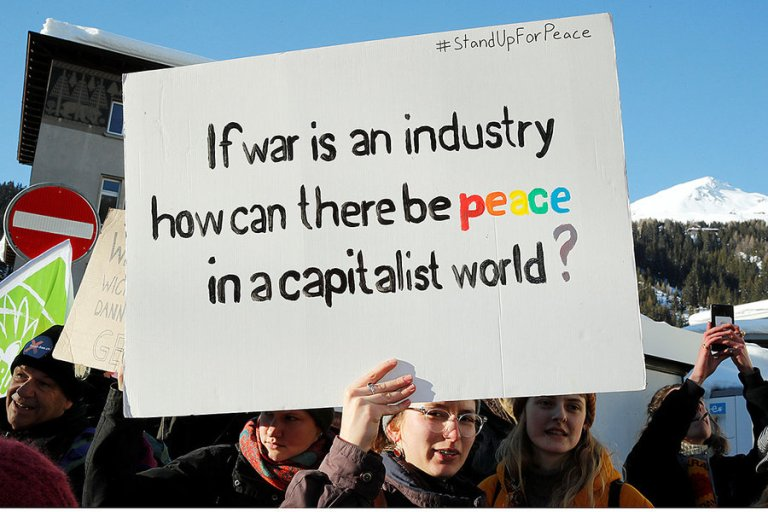 If War Is an Industry, How Can There Be Peace in a Capitalist World?