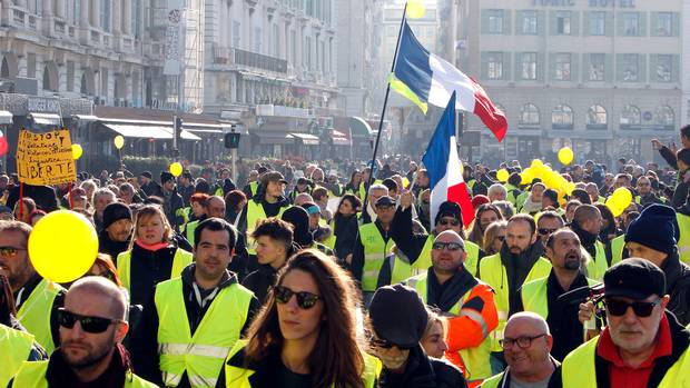 The Yellow Vests of France: Six Months of Struggle