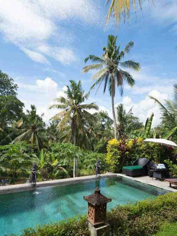 swimming pool view bali