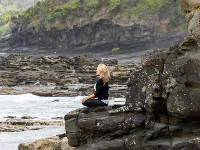 meditation along the sea
