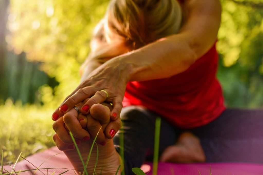 yoga, calm, release