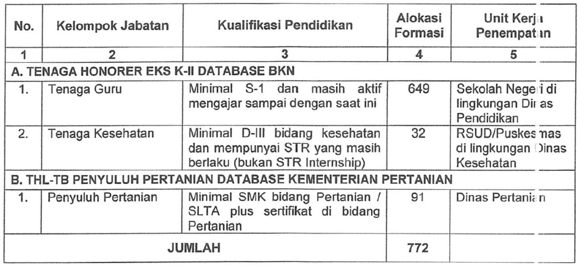 Image Result For Pengadaan Pppk Kabupaten Sukamara Tahap Info