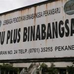 Lowongan kerja SMA Plus Binabangsa Pekanbaru