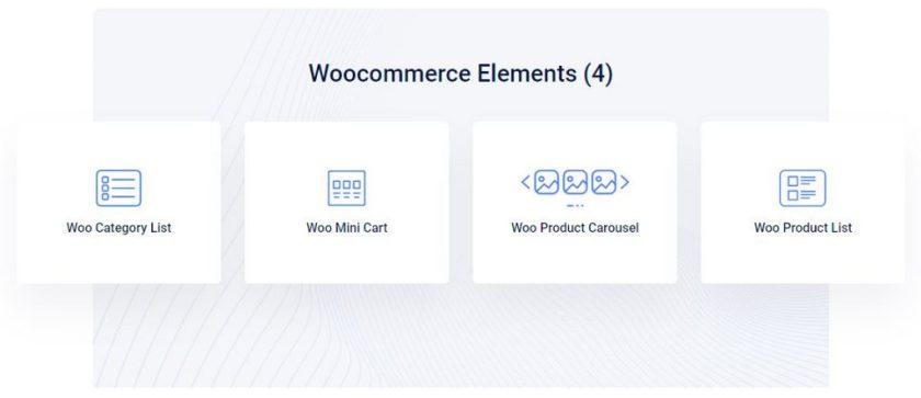 Elementskit Woocommerce Elements