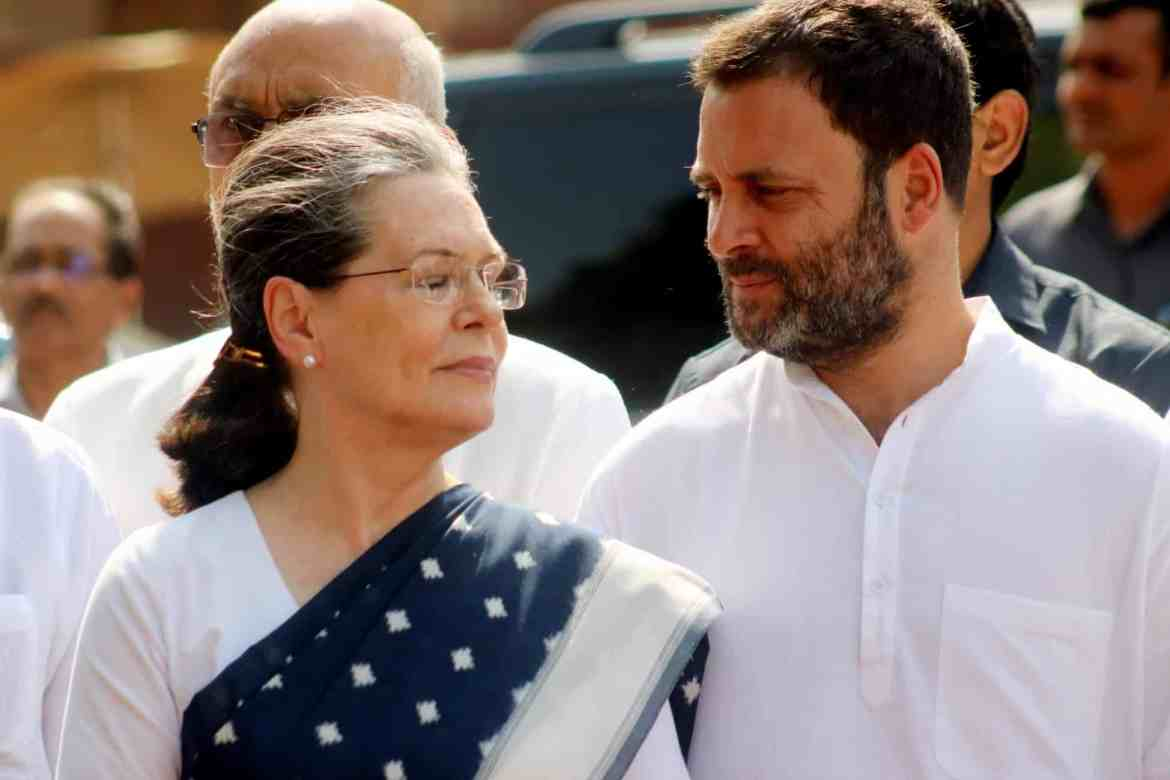 Rahul and Mum look at each other