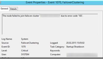 kernel event tracing error windows 7 id 2