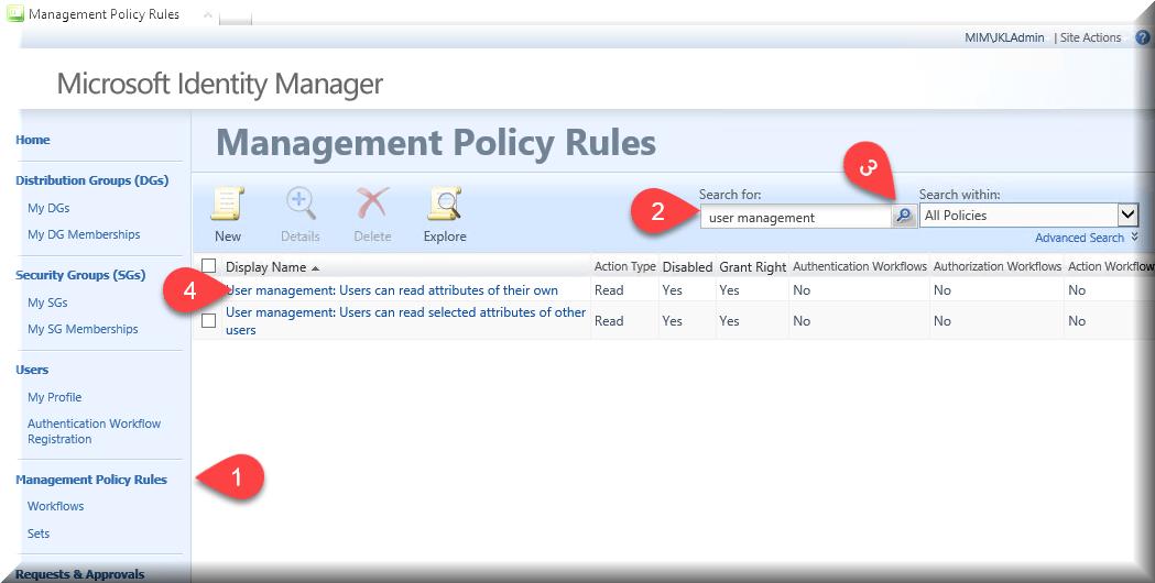 MIM LAB5: The MIM Service / Portal Management Agent - BlackCat