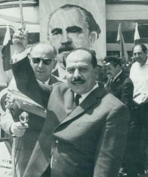 """Секретарят на Окръжния комитет на БКП Пенчо Кубадински е главният виновник за """"успехите"""" на Торпедо (Русе)."""