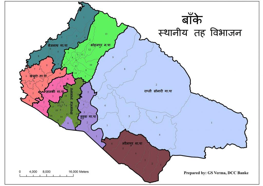 Map Banke