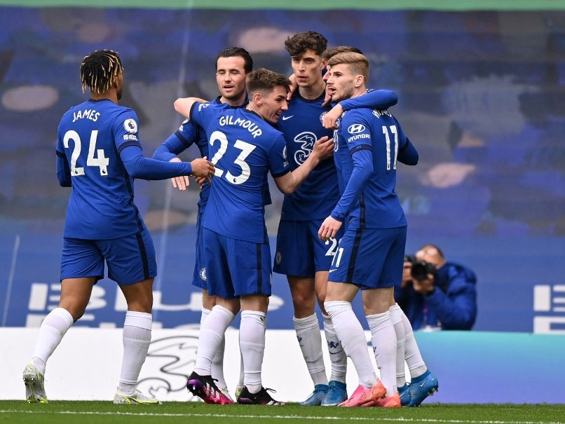 Premier League: Kai Havertz Stars As Chelsea Cement Hold On Fourth Place