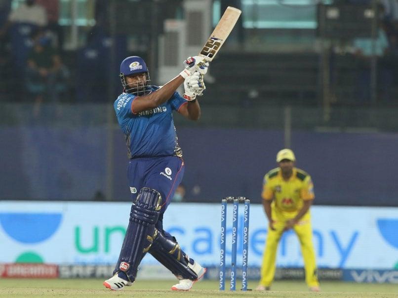 MI vs CSK, इंडियन प्रीमियर लीग: ट्विटर पर एरोप्ट्स के बाद किरोन पोलार्ड स्मैश नाबाद 87 रन मुंबई इंडियंस की 219 रन की पारी |  क्रिकेट खबर