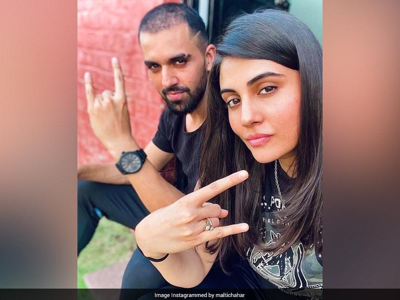 Malti Chahar Shares Snap with Brother Deepak, Call Them