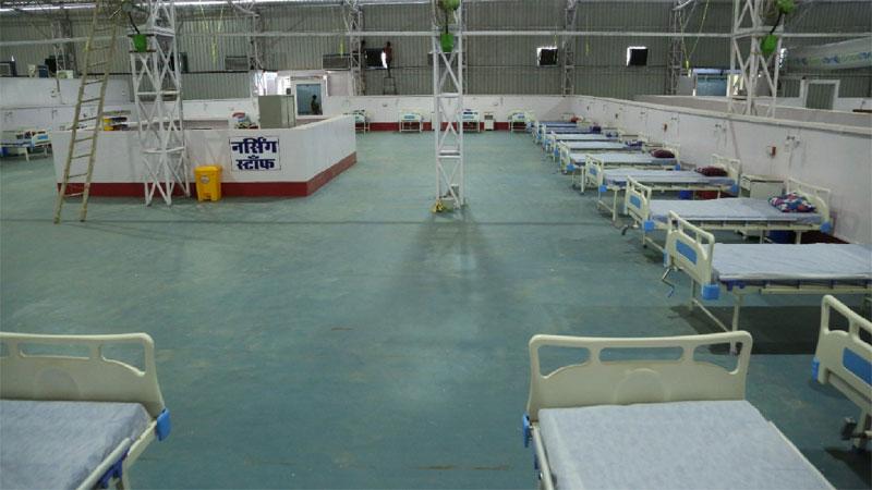 मुख्यमंत्री श्री चौहान आज बीना और बुधनी में करेंगे अस्थाई कोविड अस्पताल का शुभारंभ