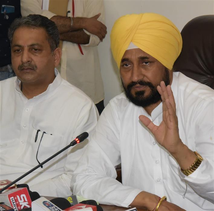 Won't let power blackout take place in Punjab, says CM Charanjit Channi