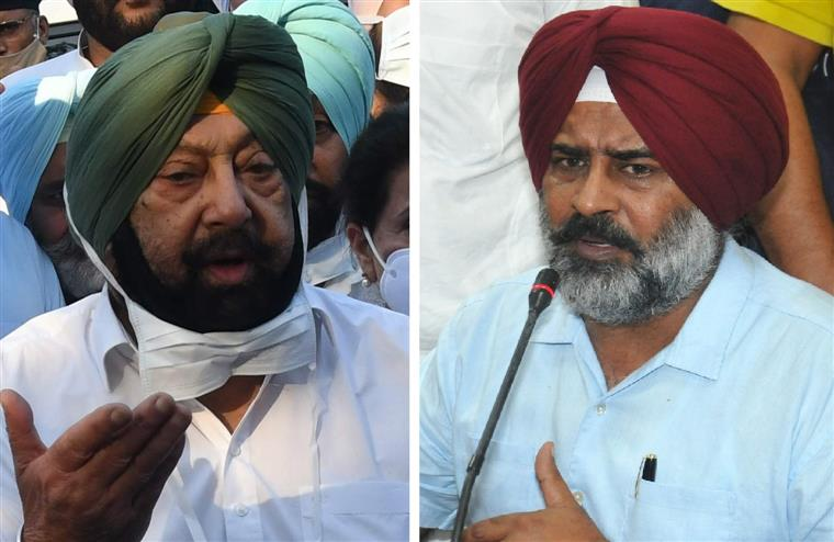 'Cooking up stories for cheap publicity': Capt Amarinder hits back at Pargat Singh