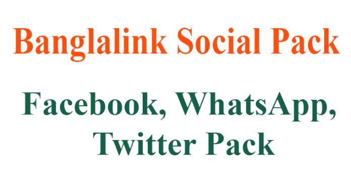 bl social Pack